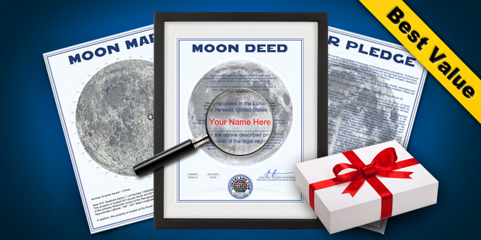 Deluxe Lunar Land Gift Package