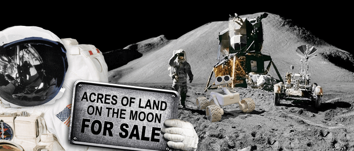 Buy Land on the Moon
