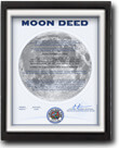Custom Lunar Land Document Framing