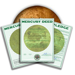 Planet Mercury Land Packages