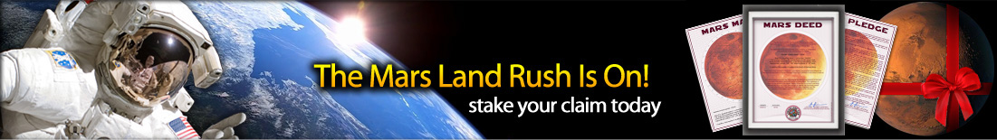 The Martian Land Rush is On!