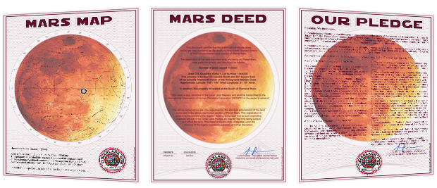mars land map deed codes